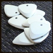 Fusion Tones - Silver - 1 Guitar Pick | Timber Tones